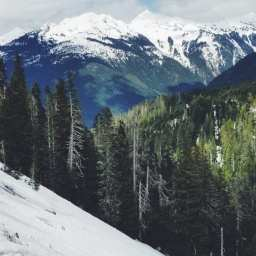 Upon the Snow-Laden Slopes of the North Cascades