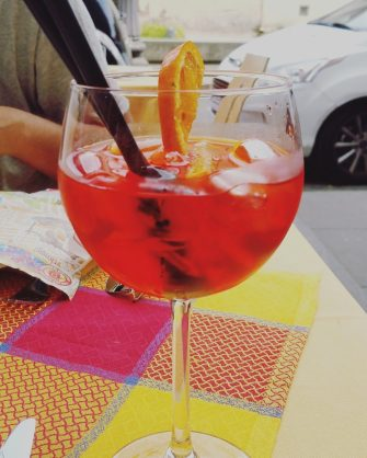 Campari to beat the heat.