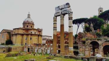 For centuries the Forum was the nucleus of Roman public life. Where triumphal processions and elections took place, where public speeches were given and criminal trials and gladiatorial matches were conducted.